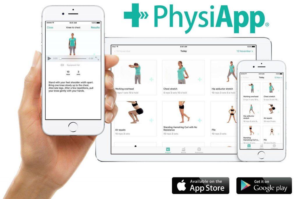 Gratis Physitrack App 1